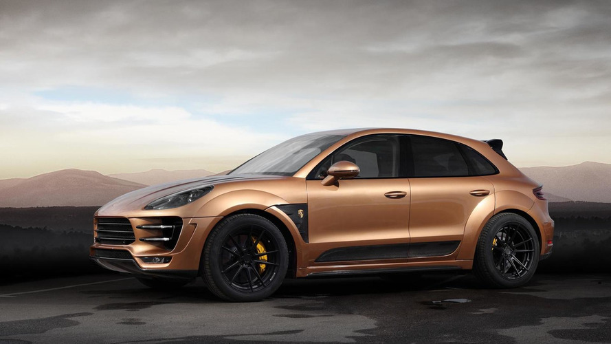 TOPCAR shows off their heavily customized Porsche Macan URSA Aurum