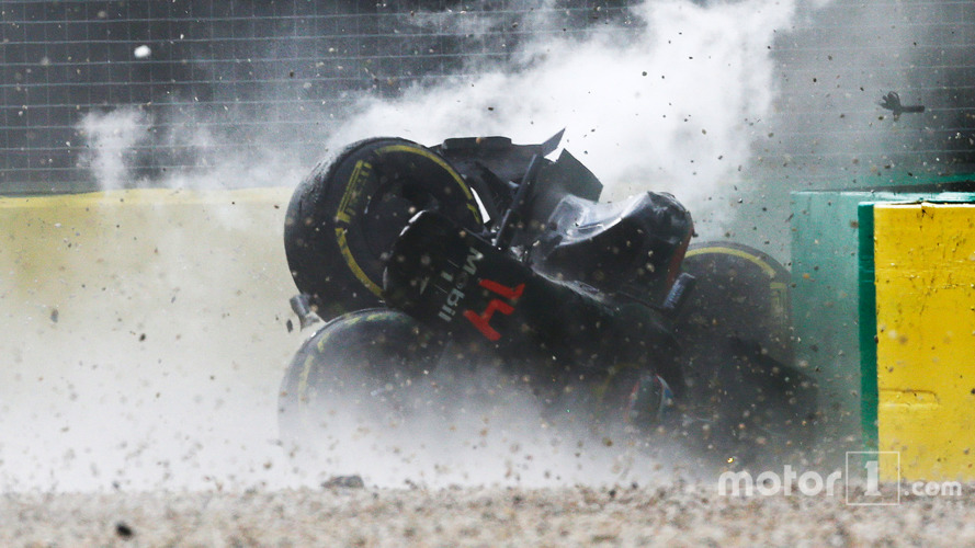 Data reveals Alonso's 305 km/h Melbourne crash peaked at 46G