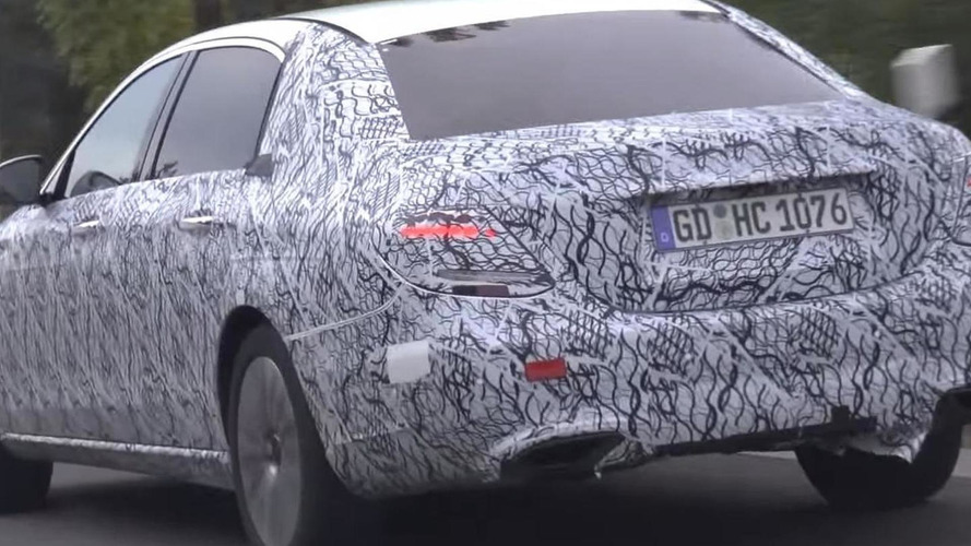 Possible Mercedes-Maybach E-Class spied in motion [video]