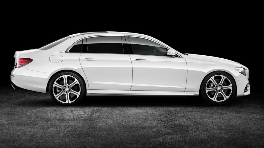 Long-wheelbase Mercedes E-Class stretches into Beijing
