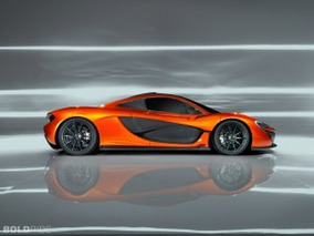 McLaren P1 Supercar Boasts Futuristic Style and Impressive Performance