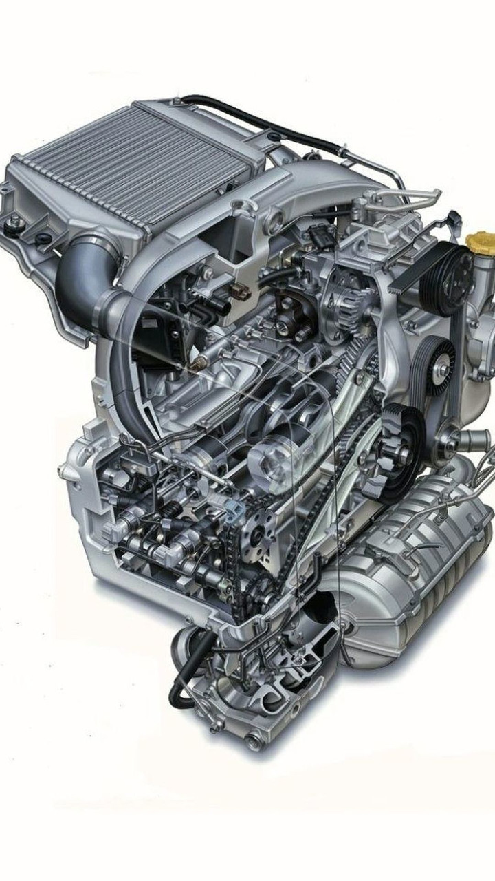 Subaru 2.0 litre Boxer Diesel engine
