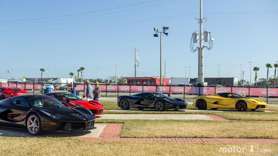 PHOTOS - Des Ferrari LaFerrari en pagaille à Daytona!