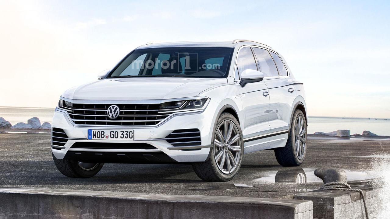 VW Touareg tasarım yorumu