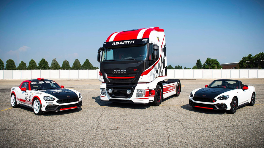 Iveco And Abarth Partner To Give Semis Sharper Look