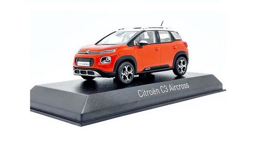 Citroen C3 Aircross Scale Model Shows What We Have Seen Already