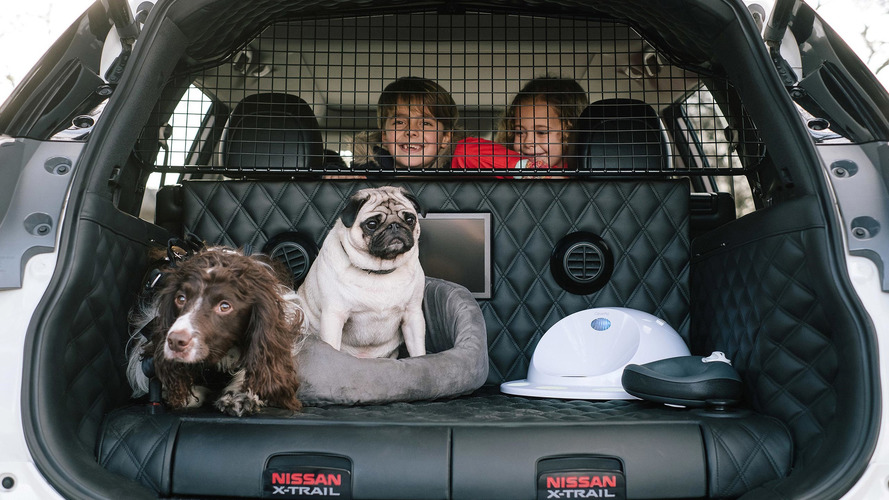 Conceito - Nissan X-Trail 4Dogs