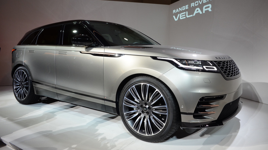 Range Rover Velar coupe-SUV arrives this summer, starts at $62,000