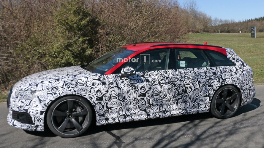 2018 Audi RS4 Avant Spied In Final Testing