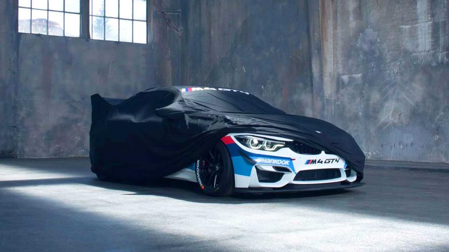 BMW M4 GT4 Gets New Peek-A-Boo Teaser