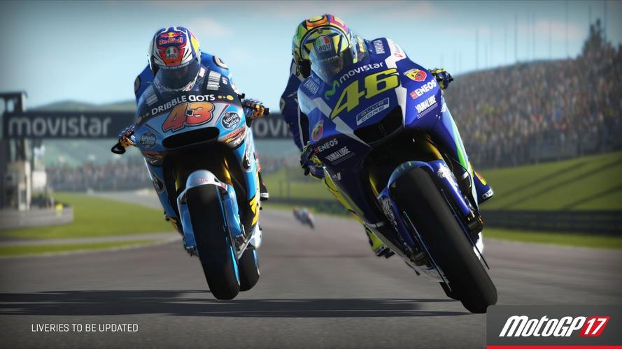 Game MotoGP 2017 será lançado em junho incluindo motos clássicas