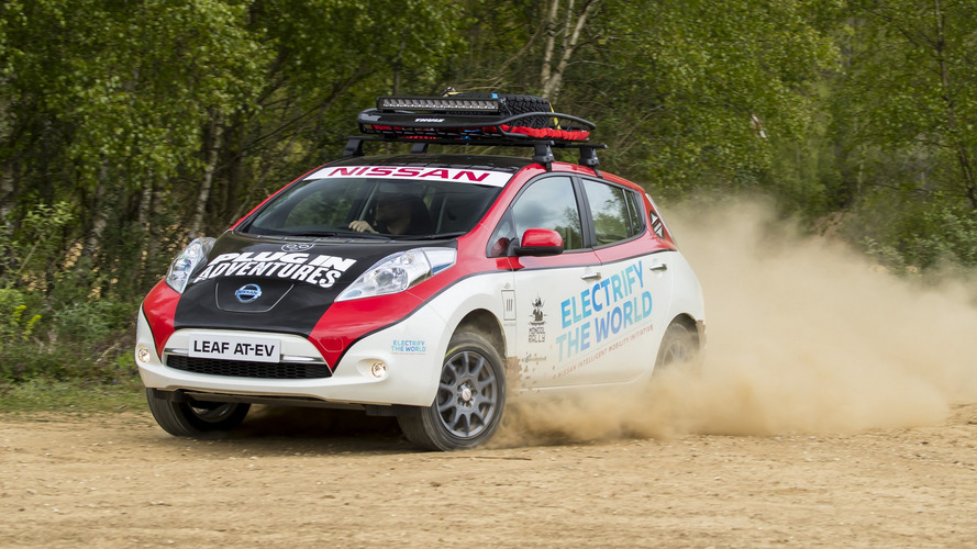 Modified Nissan Leaf Enters 10000-Mile Mongol Rally