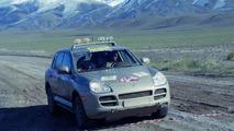 Porsche Cayenne in the Rallye Trans-Siberia 2006
