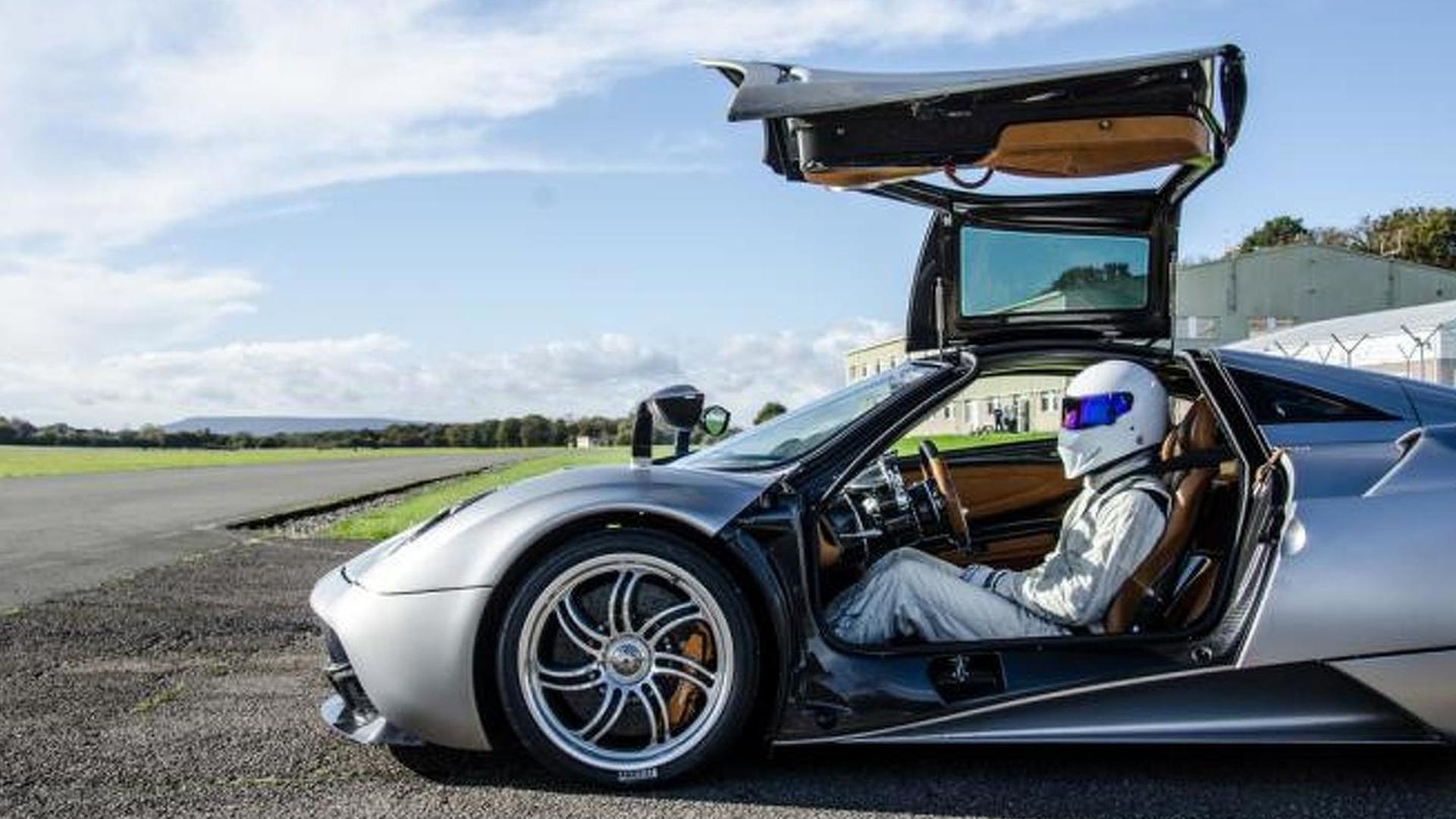 Pagani responds to accusations of cheating on Top Gear