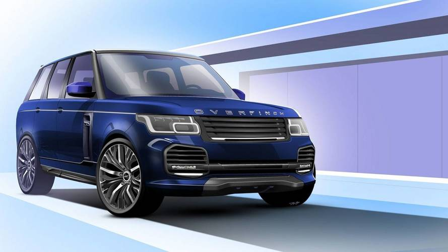 Az Overfinchtől érkezhet meg minden idők legnagyobb luxust nyújtó Range Rovere