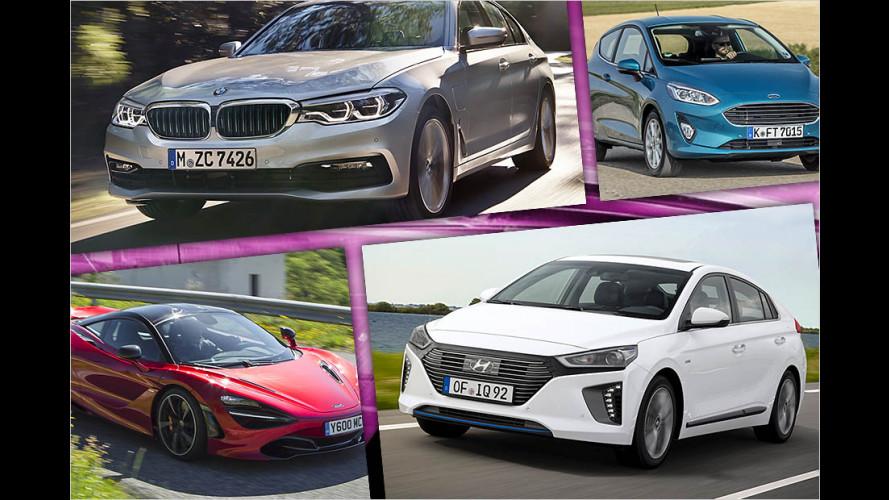 Die Frauenautos des Jahres 2017