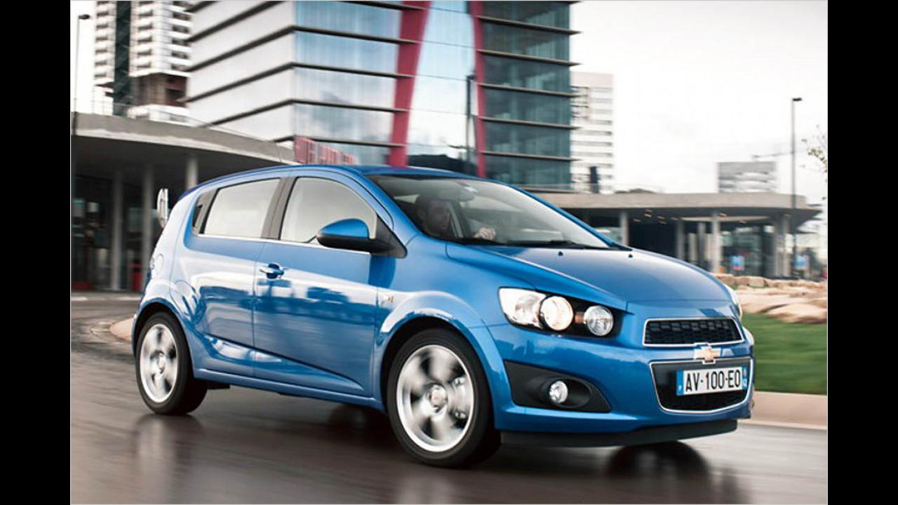 Die schlechtesten Autos bis 7 Jahre: Chevrolet Aveo