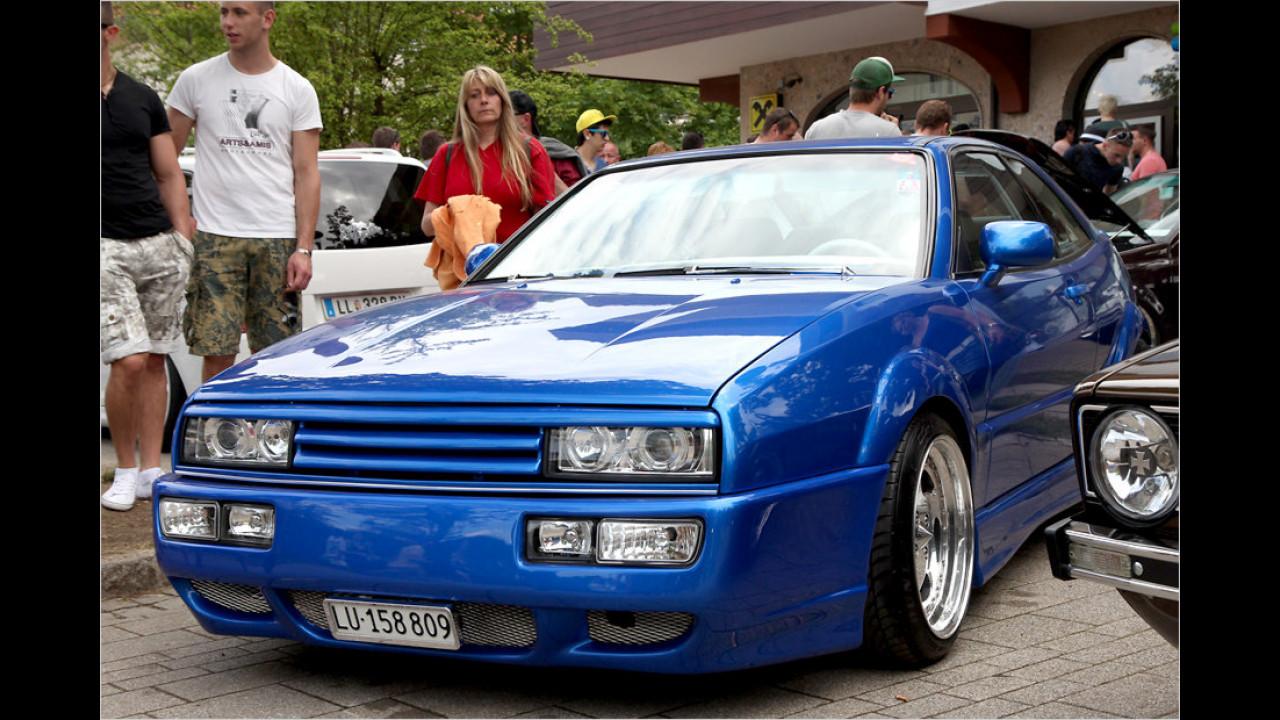 Der VW Corrado genießt in der Tuningszene fast so große Beliebtheit wie der legendäre GTI.