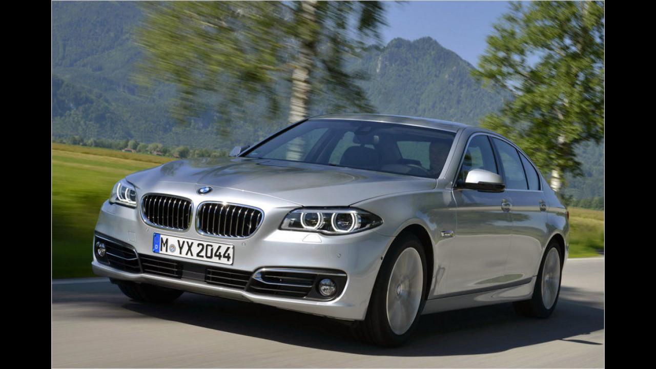 Obere Mittelklasse, Platz 2: BMW 5er (8.572 Stück)