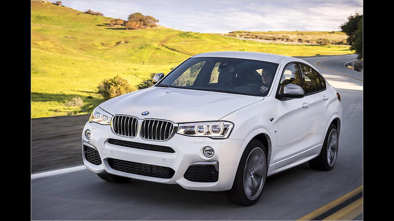 Mittlere SUVs: BMW X4