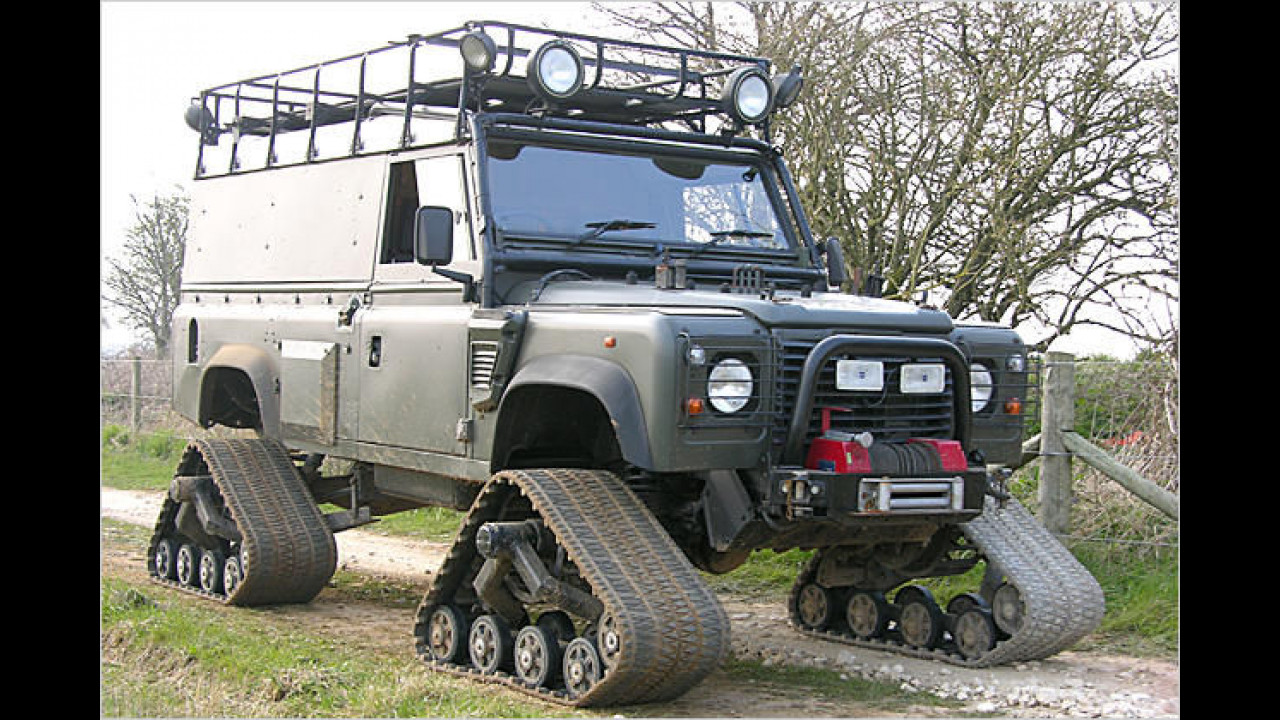 Land Rover 110 Military Spec.