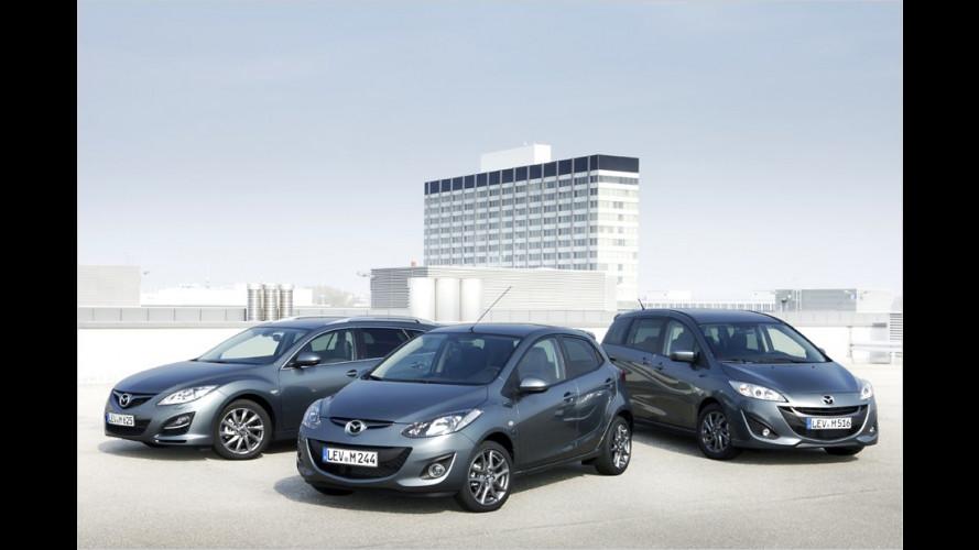 Bis zu 2.400 Euro sparen bei Mazda 2, 5 und 6
