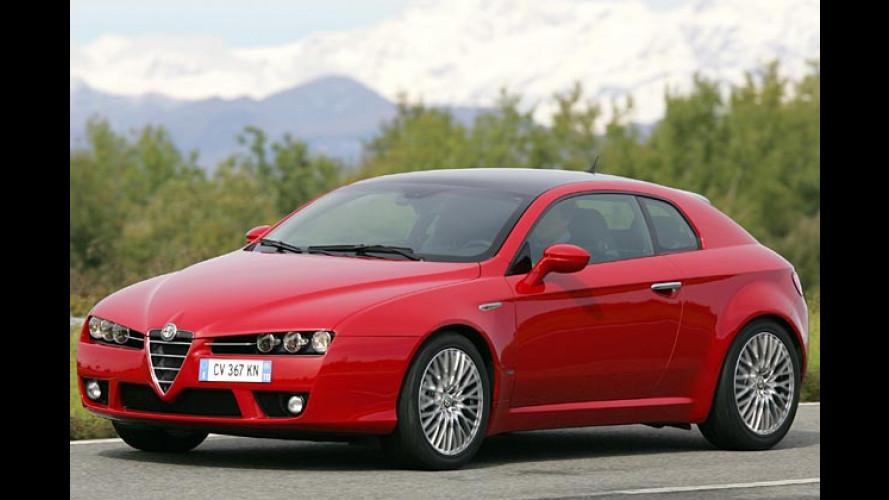 Der zündet gewaltig: Alfa Romeo Brera mit 200 Diesel-PS