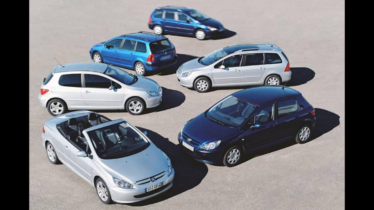 Peugeots etwas teurer