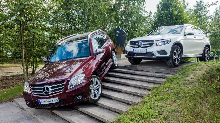 Mercedes GLK / GLC de 1 milyon barajını geçti