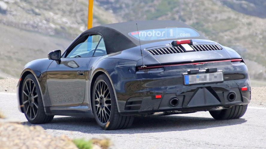 Photos espion - La nouvelle Porsche 911 Cabriolet arrive !