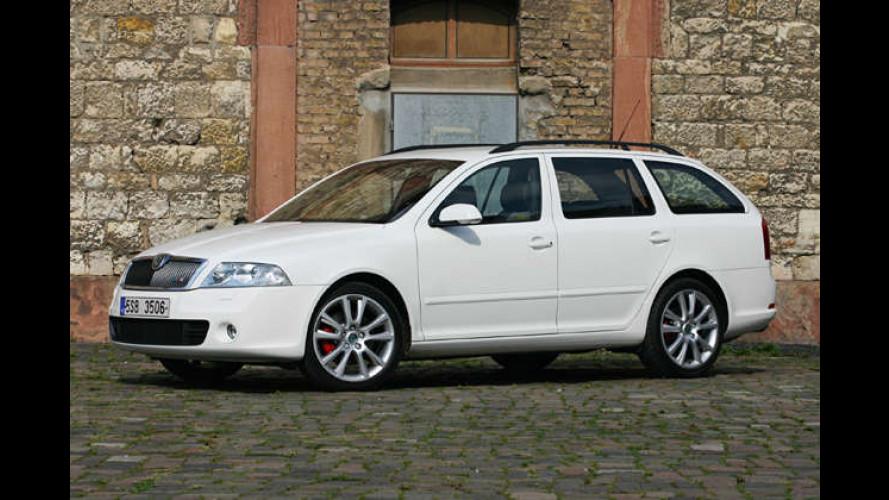 Ganz in Weiß: Skodas schnellster Diesel leistet 170 PS