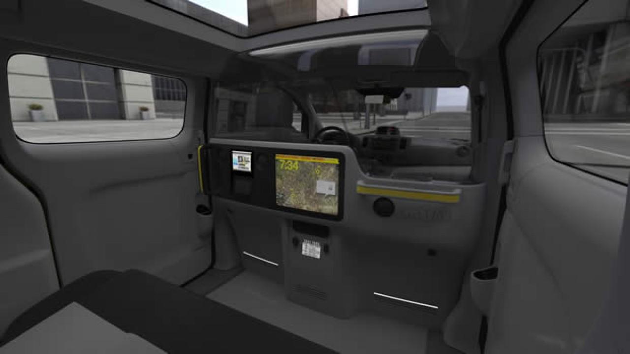 """Nissan mostra o interior do """"Táxi do Futuro"""" em Nova Iorque"""