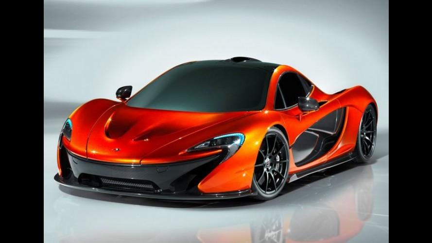 McLaren P1 Design Study: O sucessor da F1 é revelado