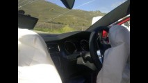 Provavelmente este é o primeiro registro de um acidente com o Golf 7 GTI