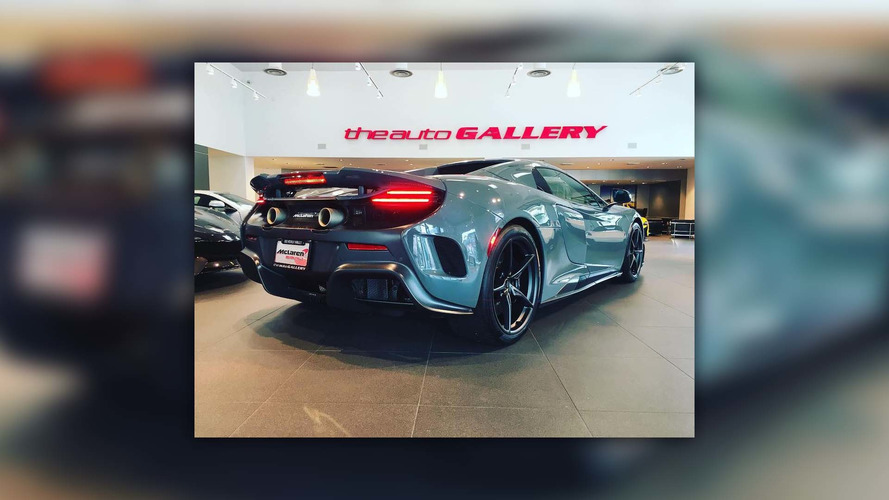 Jenson Button takes delivery of McLaren 675LT Spider