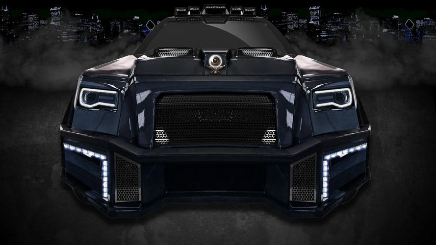 Dartz Mercedes-AMG GLS63 Black Alligator is every despot's dream