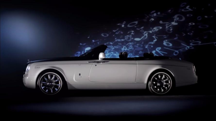 Rolls Royce s'inspire de la musique classique pour personnaliser ses voitures