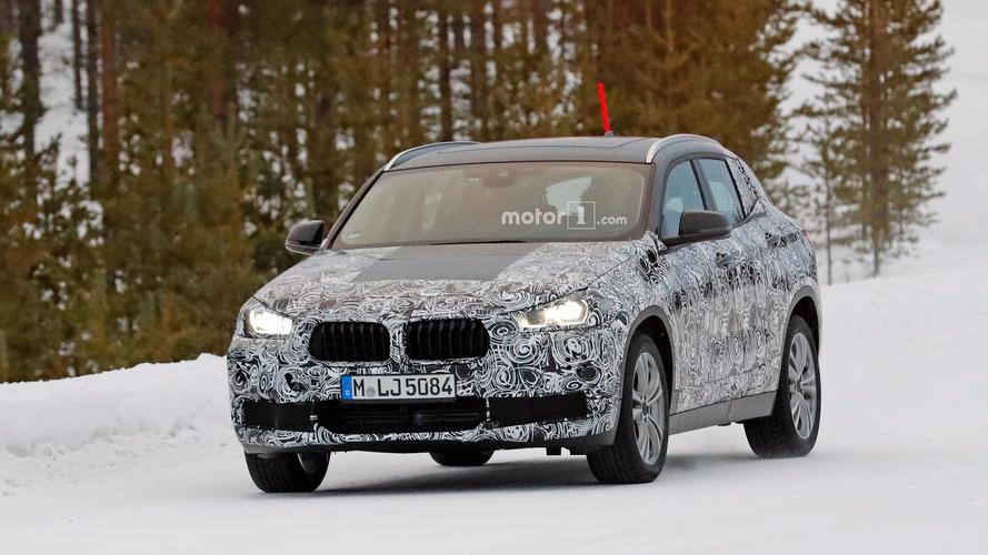 BMW X2 2017 fotos espía