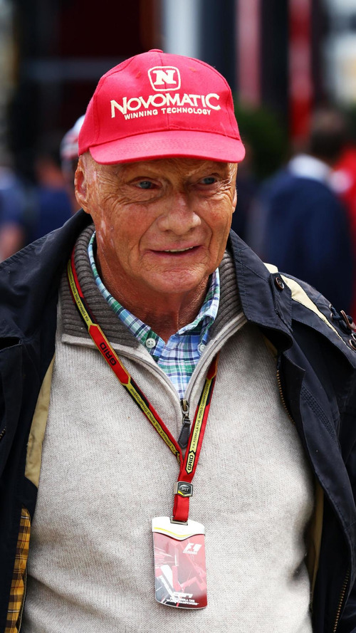 Lauda uses expletive to describe McLaren, Ferrari cars