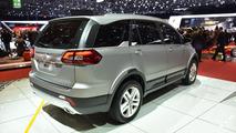 Tata Hexa Concept live at 2015 Geneva Motor Show