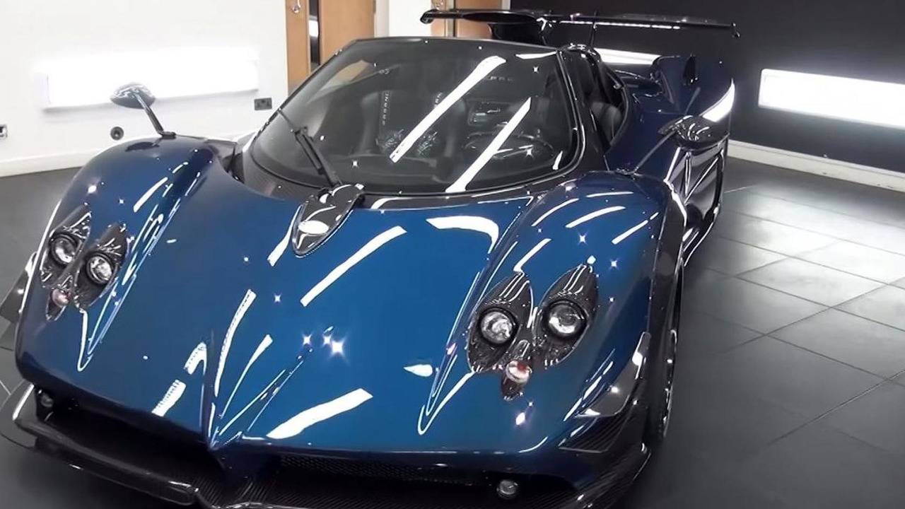 Pagani Zonda 760 Roadster with manual gearbox