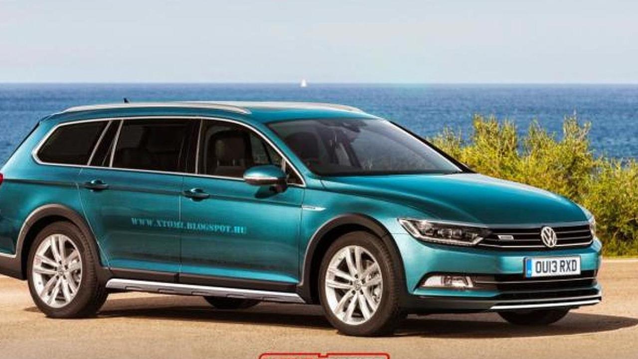 Volkswagen Passat Alltrack render