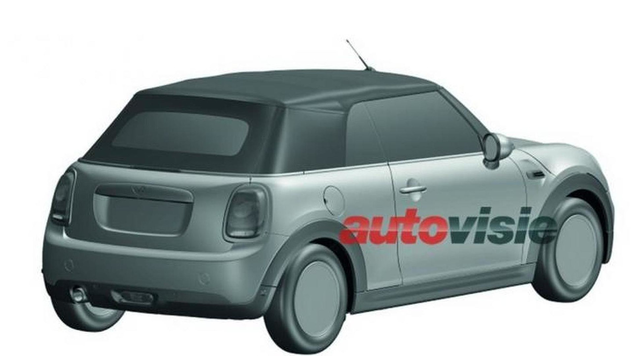 2016 MINI Convertible patent drawing