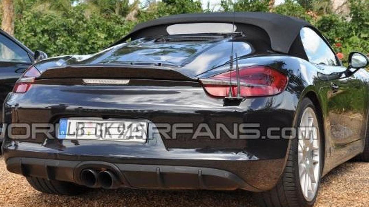 Porsche Boxster Spyder (not confirmed) spy photo