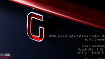Italdesign Giugiaro invitation for 2015 Geneva Motor Show