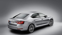 2015 Skoda Superb leaked official image