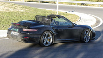 2015 / 2016 Porsche 911 Turbo Cabrio spy photo