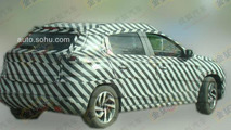 Citroen C-XR production version spy photo