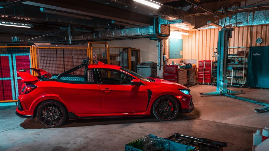 Honda transforme sa Civic Type R en pick-up !