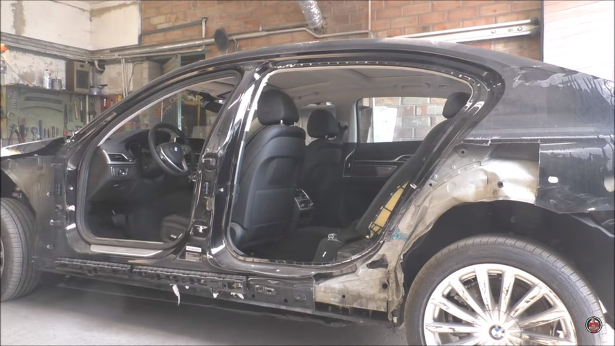 7 Series Body Repair: 10 Days Of Work Compressed Into 10 Minutes